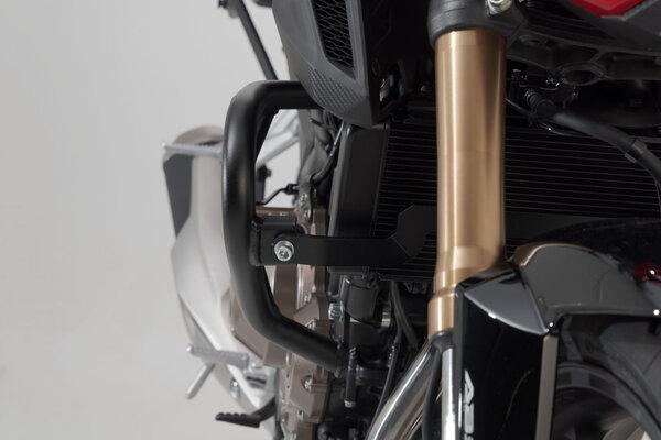 Protecciones laterales de motor Negro. Honda CB 500 F (13-).