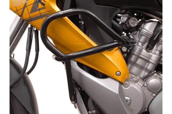 Barra di protezione motore Nero. Honda XL 700 V Transalp (07-12).