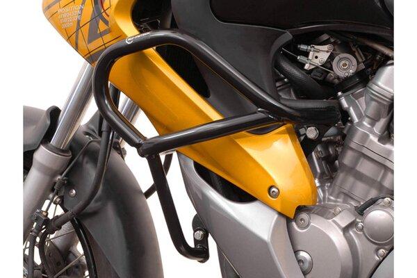 Protecciones laterales de motor Negro. Honda XL 700 V Transalp (07-12).