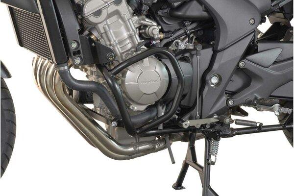 Protecciones laterales de motor Negro. Honda CBF 600 S/N (08-13).