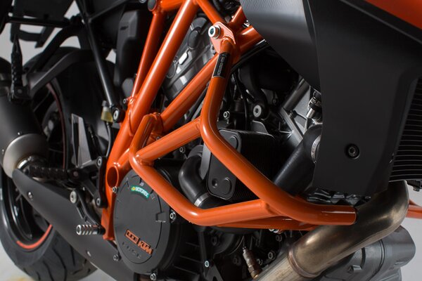 Crash bar Orange. KTM 1290 Super Duke R / GT.