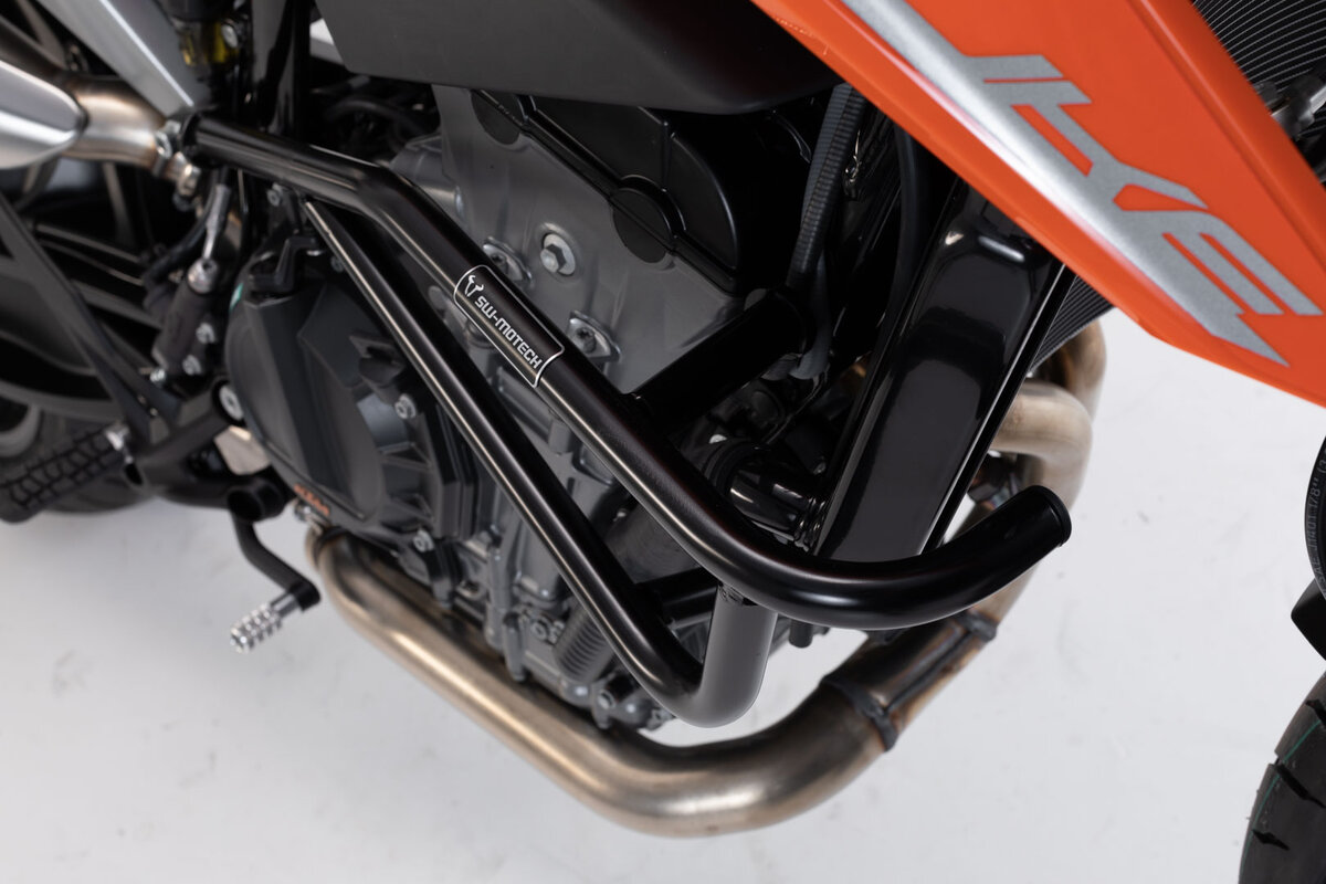 Crash bar black ktm 790 duke 18