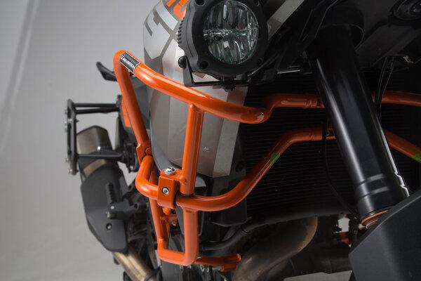 Oberer Sturzbügel für orig. KTM Sturzbügel Orange. KTM 1290 SAdv R/ S (16-), 1090 Adv (16-).