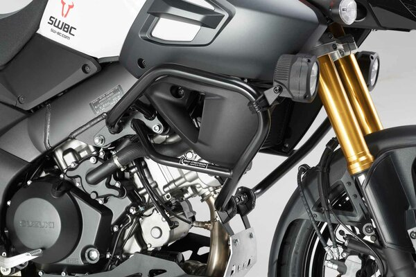Crash bar Black. Suzuki V-Strom 1000 (14-).