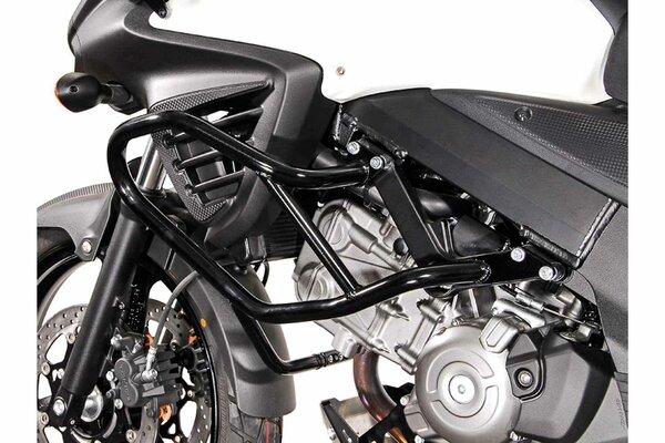 Sturzbügel Schwarz. Suzuki DL650 V-Strom (11-) / XT (15-).