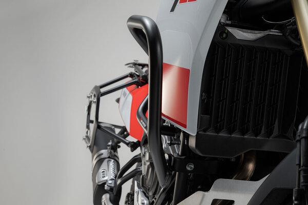 Barra di protezione motore Nero. Yamaha Ténéré 700 (19-).