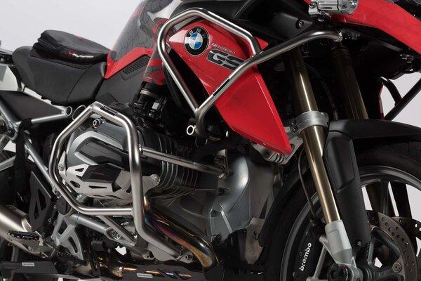 Protecciones laterales de motor Acero inoxidable. BMW R 1200 GS (12-).