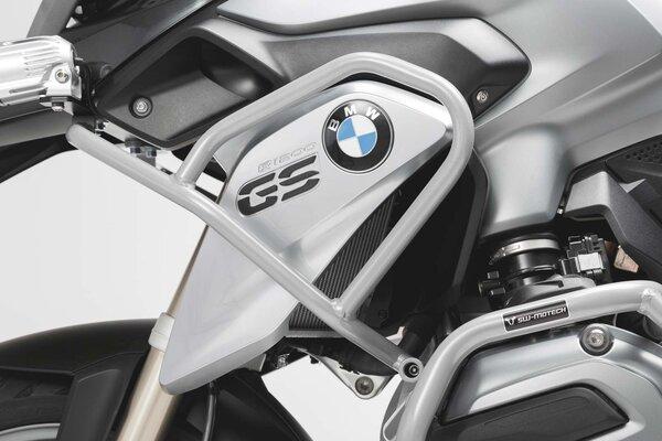 Protecciones de motor superiores Plateado. BMW R 1200 GS (12-16).