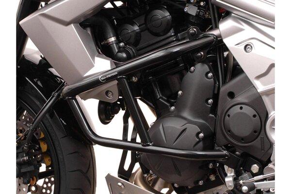 Barra di protezione motore Nero. Kawasaki Versys 650 (07-14).