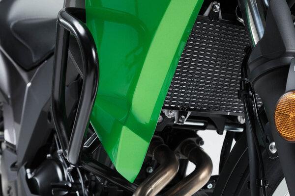 Crashbar Noir. Kawasaki Versys-X300 ABS (16-).