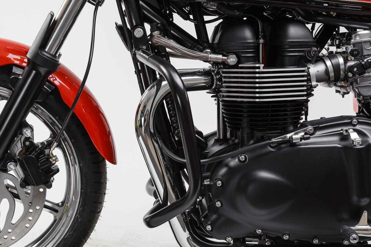Crashbar for Triumph Truxton / Bonneville, Protection for