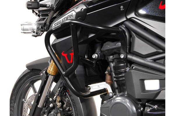 Crash bar Black. Triumph Tiger 1200 Explorer (11-15).