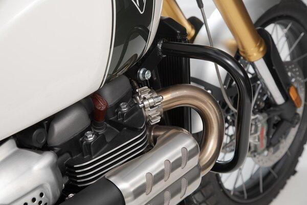 Crashbar Noir. Triumph Scrambler 1200 XC / XE (18-).