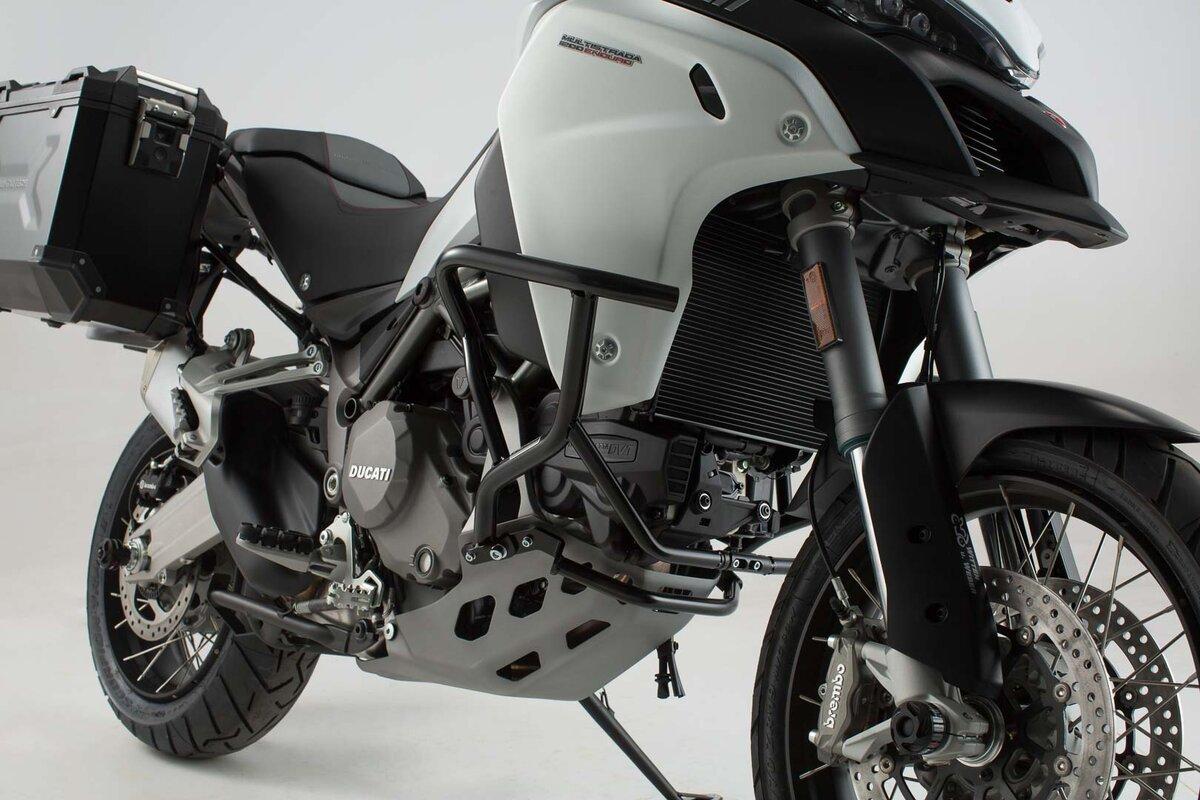 Fauge Protezione Protettore Manubrio Moto per MULTISTRADA 950 1200//1260 S//GT 2010-2019