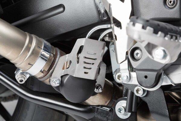 Stauklappenschutz Silbern. Suzuki V-Strom 1000 (14-).