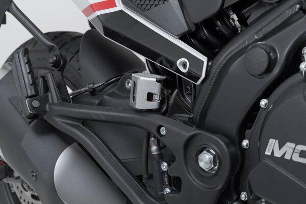 Bremsflüssigkeitsbehälter-Schutz Silbern. BMW GS/GT-Modelle,Ducati Modelle,KTM 790.