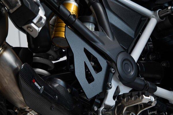 Bremspumpen-Schutz Set Schwarz. BMW R1200GS, R1250GS.