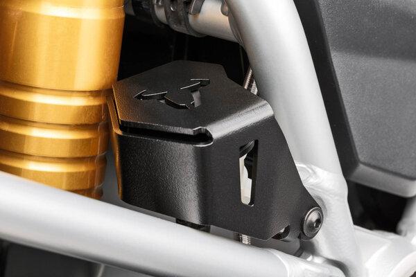 Bremsflüssigkeitsbehälter-Schutz Schwarz. BMW R1200GS, R1250GS.