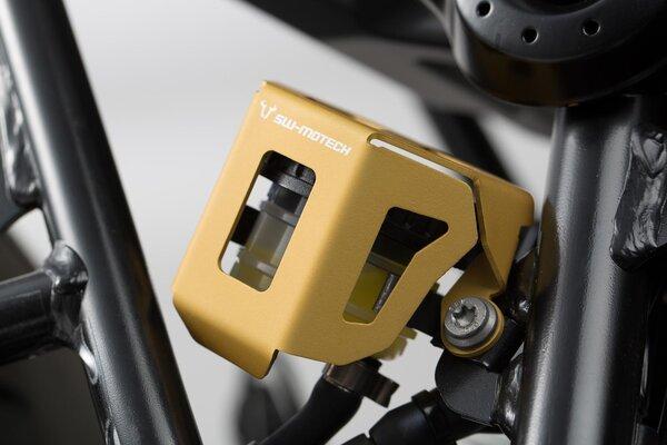 Bremsflüssigkeitsbehälter-Schutz Golden. BMW R nineT (14-) / Scram, Pure (16-).