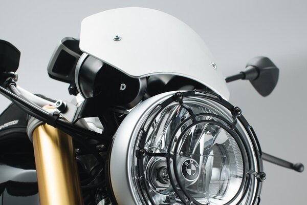 Windschild Silbern. BMW R nineT (14-).