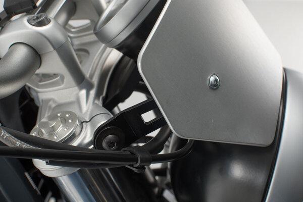 Windscreen Silver. BMW R nineT Pure (16-).