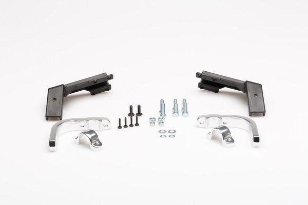 Barkbuster Handprotektoren-Kit STORM S1 Schwarz. Ein-Punkt-Befestigung. 22 mm Lenker.