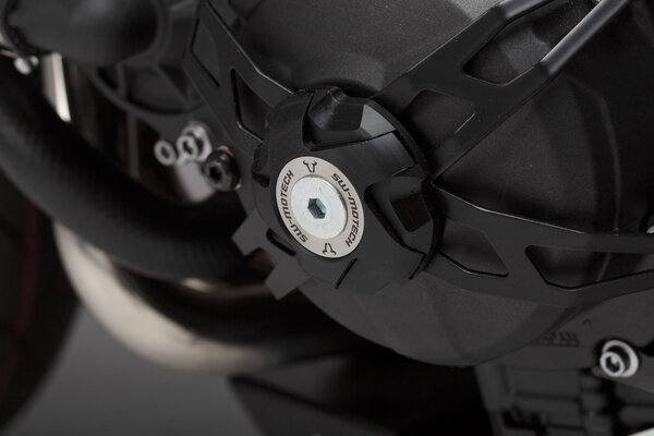 Tapa para protección de alternador Negro. Yamaha MT-09 (13-), XSR900 (15-) /Abarth.