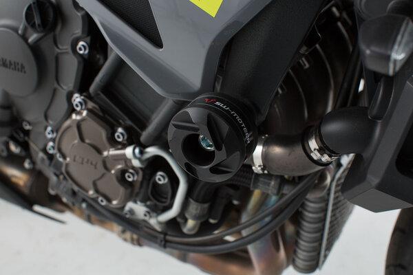 Kit tamponi di protezione Nero. Yamaha MT-10 (16-).