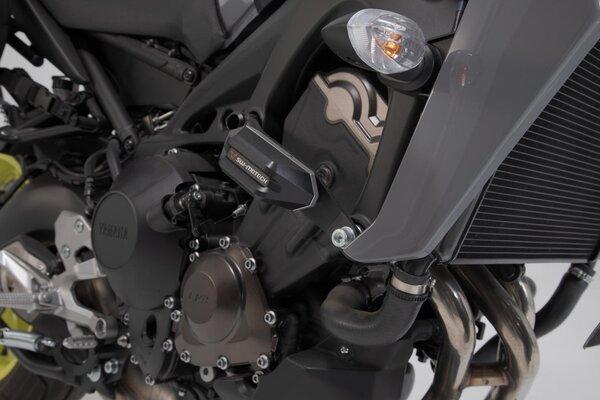 Kit de patins de cadre Noir. Yamaha MT-09/Tracer, XSR900/Abarth.
