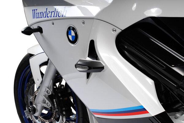 Kit tamponi di protezione Nero. BMW F 800 ST (06-12).