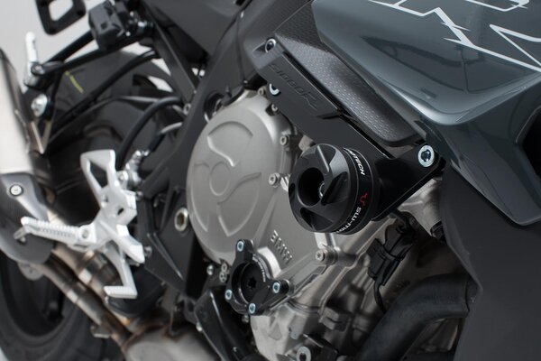 Kit de protectores anticaídas Negro. BMW S1000R (16-).