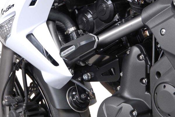 Slider set for frame Black. Kawasaki ER-6n (09-11).