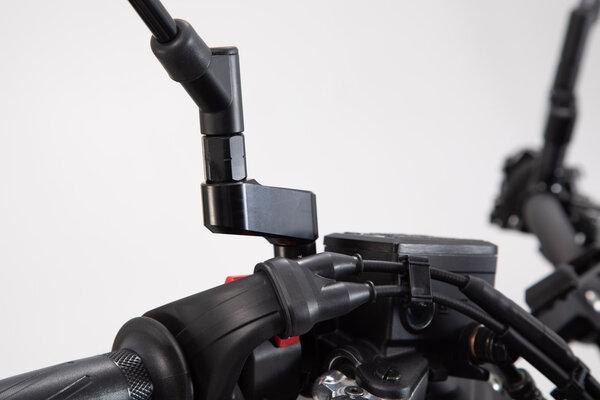 Spiegelverlängerung Schwarz. Max. Verlegung: 40 mm. Yamaha / Ducati.