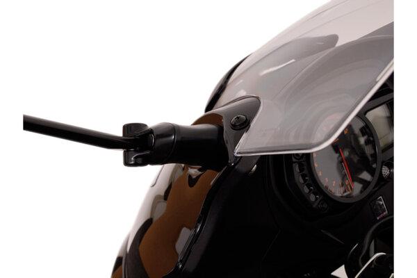 Spiegelverlängerung Kontur-Distanzstück. Schwarz. Suzuki. GSF 650S.