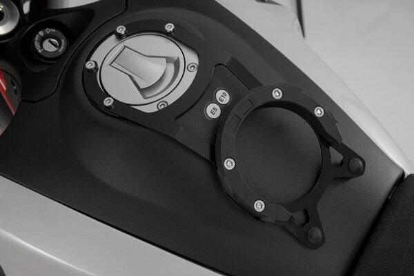 EVO Tankring Schwarz. Moto Guzzi V85 TT (19-).