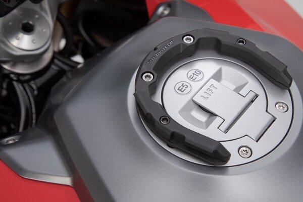 PRO Tankring Schwarz. Kawasaki/Suzuki/Yamaha. 7/8 Schrauben.