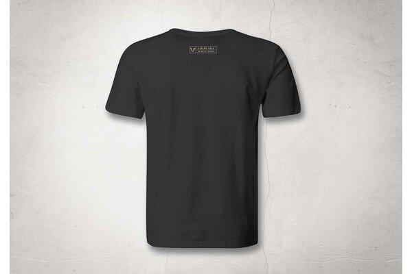 T-Shirt Legend Line. Schwarz. Herren. Größe XL.